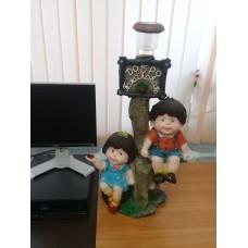 """Садовые фигура полистоун """"Дети"""" 80 см"""