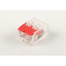 Универсальные компактные клеммы 2-проводные STEKKER, LD221-412 32393