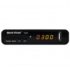 Цифровая ТВ приставка Word Vision T62D