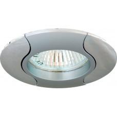 Светильник встраиваемый Feron 020T-MR16 потолочный MR16 G5.3 серый-хром