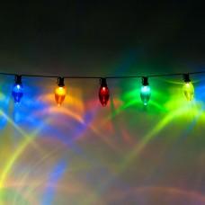 Светодиодная гирлянда Feron CL113 фигурная 220V разноцветная c питанием от сети