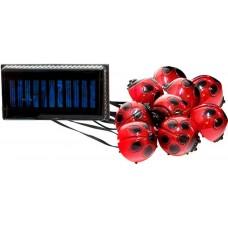 Светильник садово-парковый на солнечной батарее, 9 белых LED, CD881