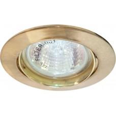 Светильник встраиваемый Feron DL308 потолочный MR16 G5.3 золотистый