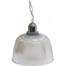 """Прожектор Feron HL37 (12"""") купольный 60W E27 230V, серый"""