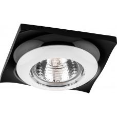 Светильник встраиваемый Feron DL103R потолочный MR16 G5.3 черно-белый