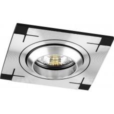 Светильник встраиваемый Feron CD2330 потолочный MR16 G5.3 черный-алюминий