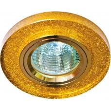 Светильник встраиваемый Feron 8060-2 потолочный MR16 G5.3 мерцающее золото