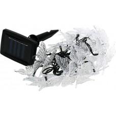 Садовая гирлянда из 20 полупрозрачных бабочек SL-PL600-BTF20