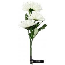 """Светильник садово-парковый на солнечной батарее """"Астра 3шт."""" белый, 3 LED белый , 80см , PL304"""