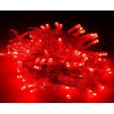 Гирлянда красная 80 LED 8.8 м
