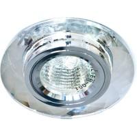 Светильник встраиваемый Feron 8050-2 потолочный MR16 G5.3 серебристый