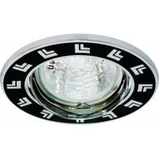 Светильник встраиваемый Feron 2002DL потолочный MR16 G5.3 черный