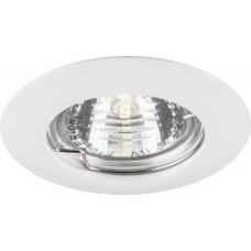 Светильник встраиваемый Feron DL307 потолочный MR16 G5.3 белый