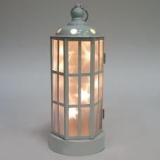 Световая фигура 10 LED, цвет свечения: белый, высота: 26 см, батарейки 3*АА, IP20, LT057