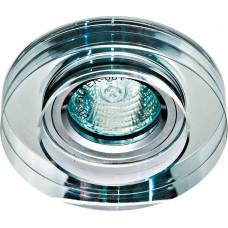 Светильник встраиваемый Feron 8080-2 потолочный MR16 G5.3 прозрачный