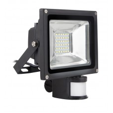 Светодиодный (LED) прожектор FL Sensor Smartbuy-20W/6500K/65