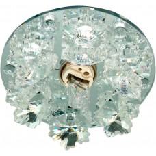 Светильник встраиваемый Feron 1540 потолочный JCD9 G9 прозрачный