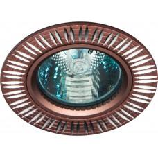 Светильник встраиваемый Feron GS-M369 потолочный MR16 G5.3 коричневый
