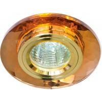 Светильник встраиваемый Feron 8050-2 потолочный MR16 G5.3 коричневый