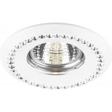 Светильник встраиваемый Feron DL103-C потолочный MR16 G5.3 белый