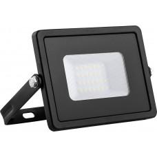 Прожектор многоматричный LL-920 2835 SMD 30W 4000K IP65  AC220V/50Hz, черный  с матовым стеклом  132*153*27 мм