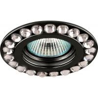 Светильник встраиваемый Feron DL112-C потолочный MR16 G5.3 черный