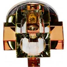 Светильник встраиваемый Feron C1037Y потолочный JCD G9 прозрачно-желтый