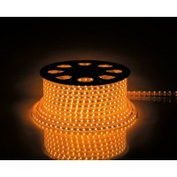 Cветодиодная LED лента Feron LS707, 60SMD(5050)/м 14.4Вт/м 50м IP68 220V желтый