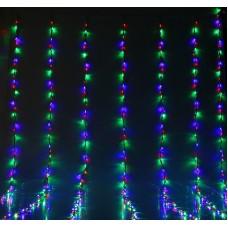 Гирлянда Водопад RGB LED 240, контроллер