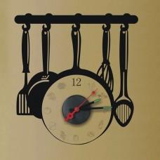 Часы-наклейка на стену Feron NL39 с питанием от батареек