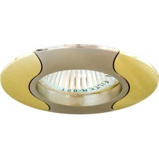 Светильник встраиваемый Feron 020T-MR16 потолочный MR16 G5.3 титан-золото