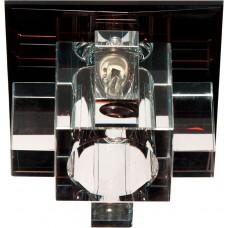 Светильник встраиваемый Feron 1525 потолочный JCD9 G9 сиреневый