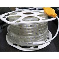 Светодиодная лента 220V GY-SMD5730-120L-WW  (22W/M) тёплый белый