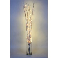 Ветка декоративная светодиодная Feron LD206B-indoor с белой подсветкой от сети, высота 120 см