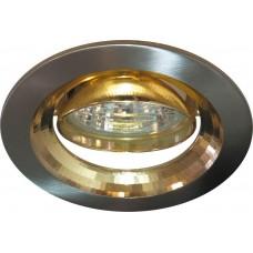 Светильник встраиваемый Feron 2009DL потолочный MR16 G5.3 титан-золото