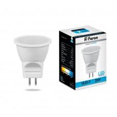 Лампа светодиодная Feron LB-271 MR11 G5.3 3W 6400K