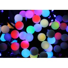 Гирлянда уличная Шарики LED 100 RGB 10 м