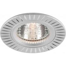 Светильник встраиваемый Feron GS-M394 потолочный MR16 G5.3 серебристый
