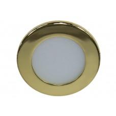 Светодиодный светильник Feron AL500 встраиваемый 3W 4000K золотистый