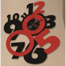 Часы-наклейка на стену Feron NL29 с питанием от батареек