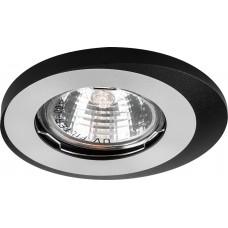 Светильник встраиваемый Feron DL4A потолочный MR16 G5.3 алюминий-черный
