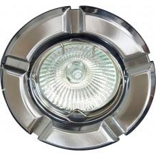 Светильник встраиваемый Feron 098T-MR16 потолочный MR16 G5.3 титан-хром