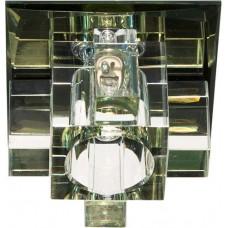 Светильник встраиваемый Feron 1525 потолочный JCD9 G9 желтый