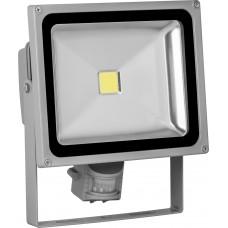 Светодиодный прожектор Feron с датчиком LL-232 IP44 30W 6500K