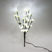 Ветка декоративная светодиодная Feron LD211B c белой подсветкой от сети, высота 39 см