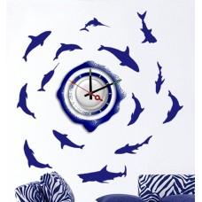 Часы-наклейка на стену Feron NL20 с питанием от батареек