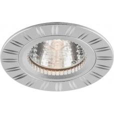 Светильник встраиваемый Feron GS-M393 потолочный MR16 G5.3 серебристый