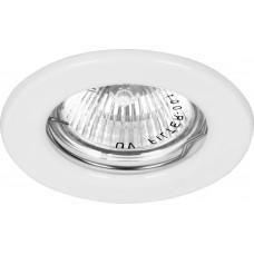 Светильник встраиваемый Feron DL10 потолочный MR16 G5.3 белый