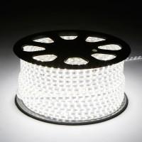 Светодиодная лента 220V GY-SMD5050-60L-W (14.4W/M) холодный белый