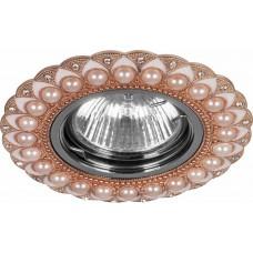 Светильник встраиваемый Feron CD2050 потолочный MR16 G5.3 шампань-хром